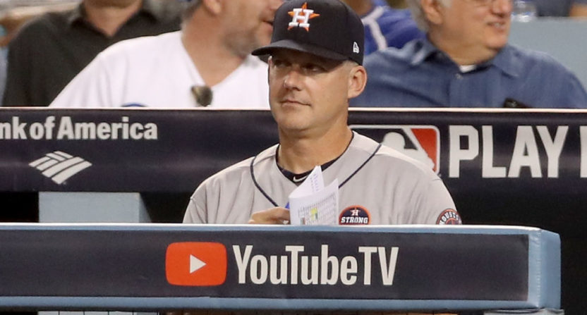 "A.J. Hinch went off on TMZ for their report about a bar ""altercation"" he was involved in."