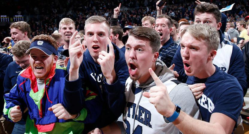 Butler fans.