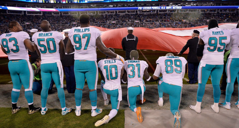nfl protests-national anthem
