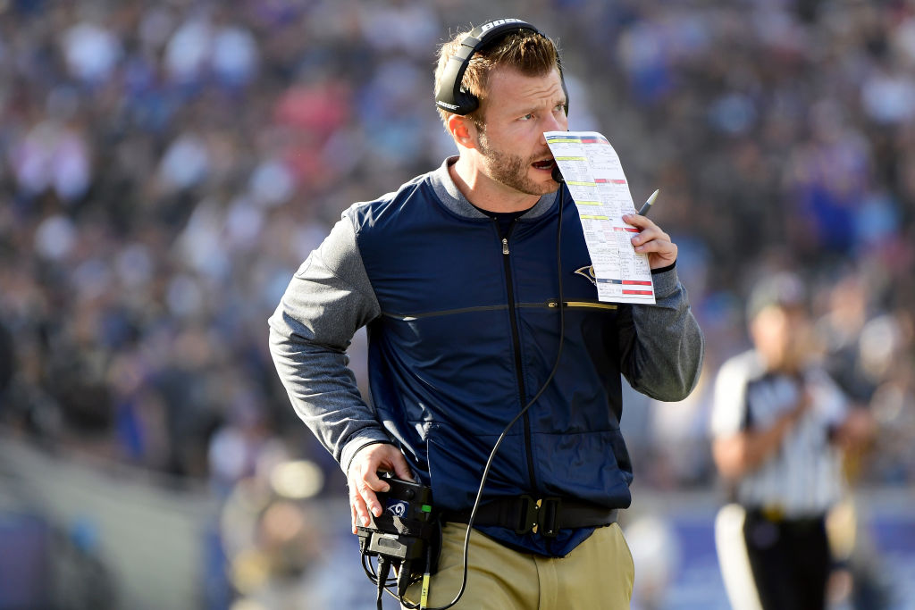Sean Mcvay S Calling Rams Audibles Himself Will Others