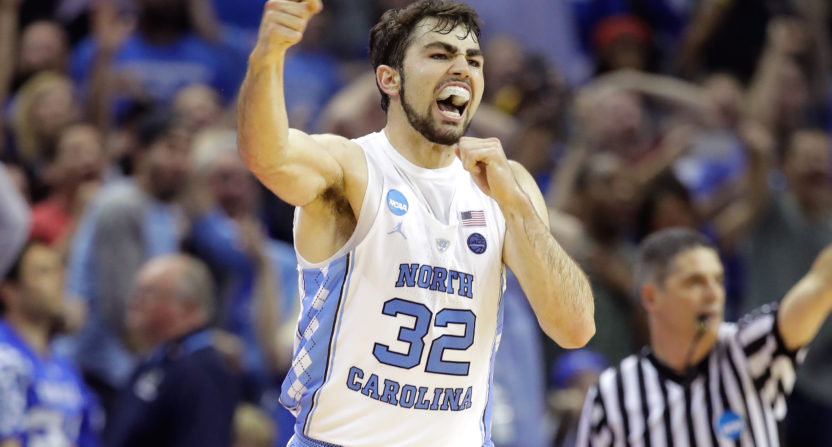 luke maye-north carolina basketball