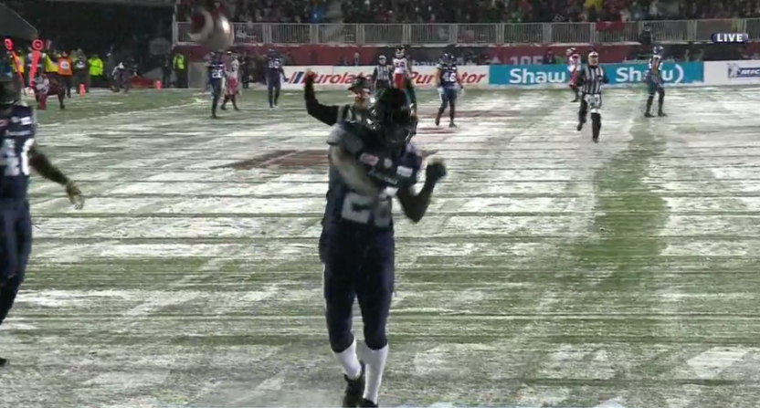 This Cassius Vaughn Grey Cup fumble return TD proved a key turning point.