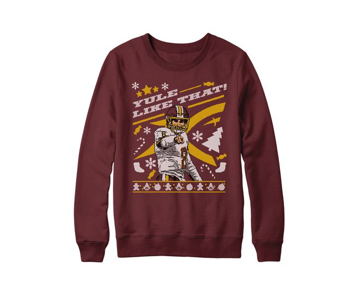 Washington QB kirk Cousins is selling a holiday-themed sweater inspired by his most famous postgame expression.