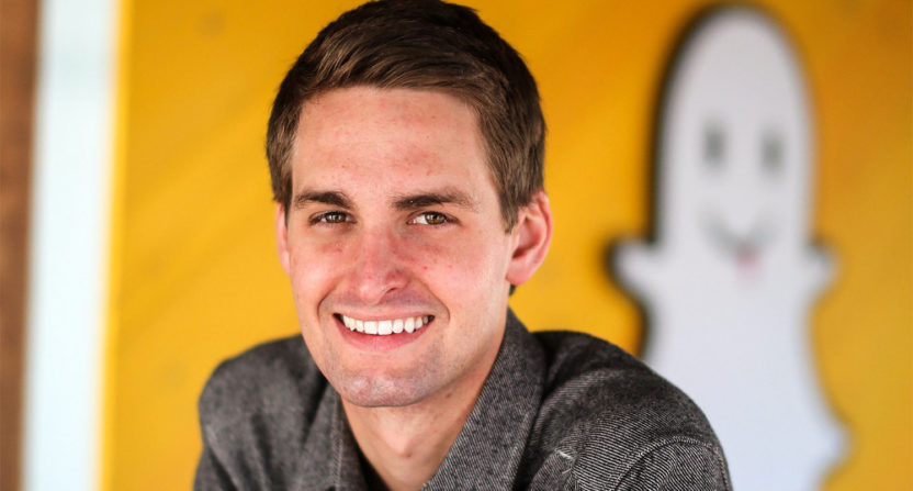 Snap Inc. CEO Evan Spiegel talked about the company's upcoming Snapchat redesign.