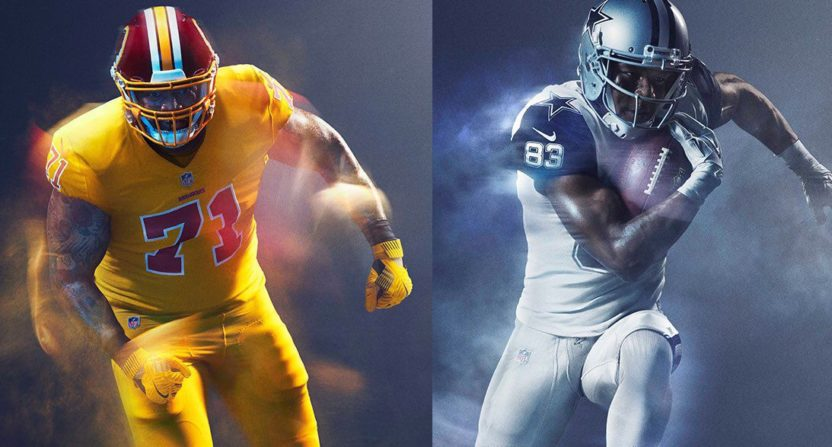finest selection 4b568 fa7b3 The Redskins don't want to wear their hideous yellow Color ...