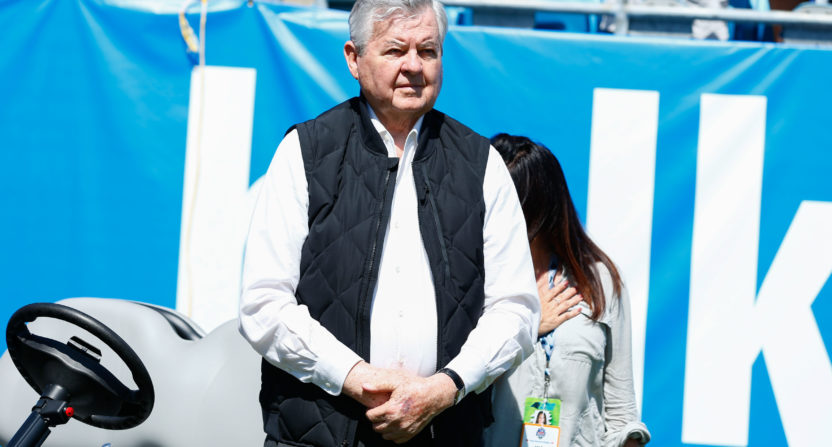 Jerry Richardson in Sept 2017.