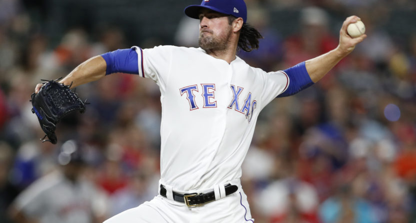 cole hamels-charity-texas rangers