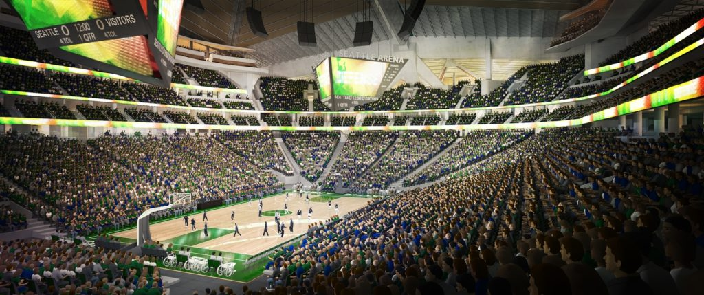 Key Arena Renovation Rendering