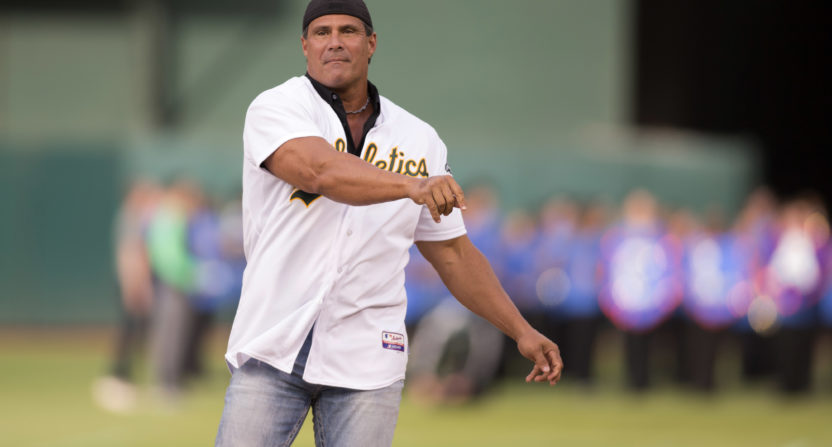 jose canseco-oakland athletics