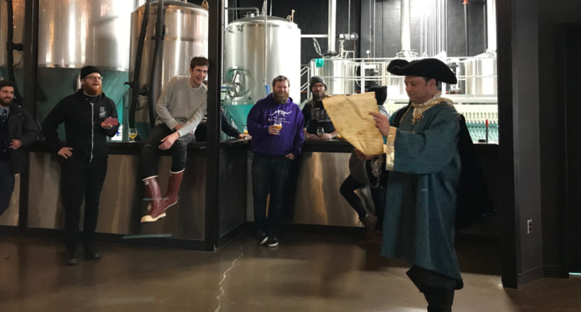 Bud Light sent a town crier to deliver a Dilly Dilly cease and desist.
