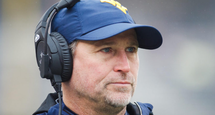 Dana Holgorsen's West Virginia Mountaineers lost the Heart of Dallas Bowl 30-14 to Utah Tuesday.
