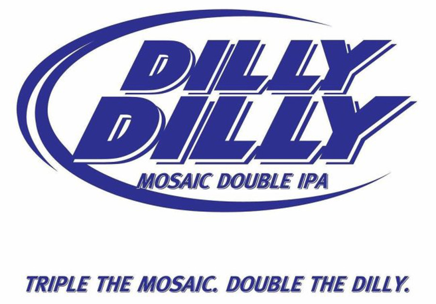 The Dilly Dilly IPA logo