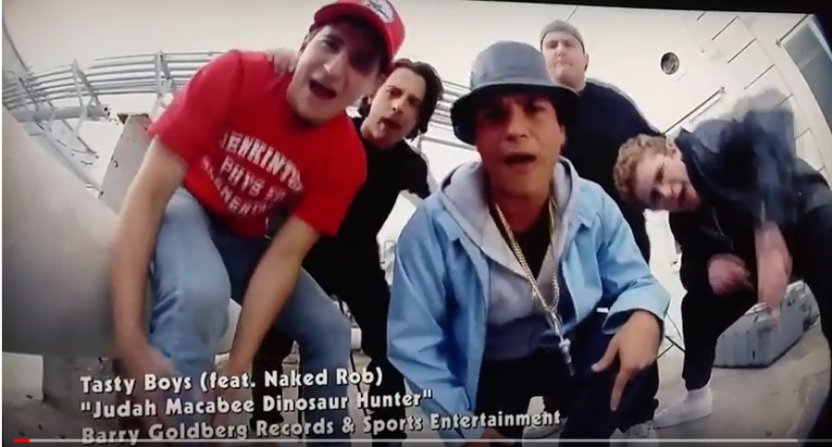 """""""Judah Macabee, Dinosaur Hunter"""" is featured on the new soundtrack from The Goldbergs.."""