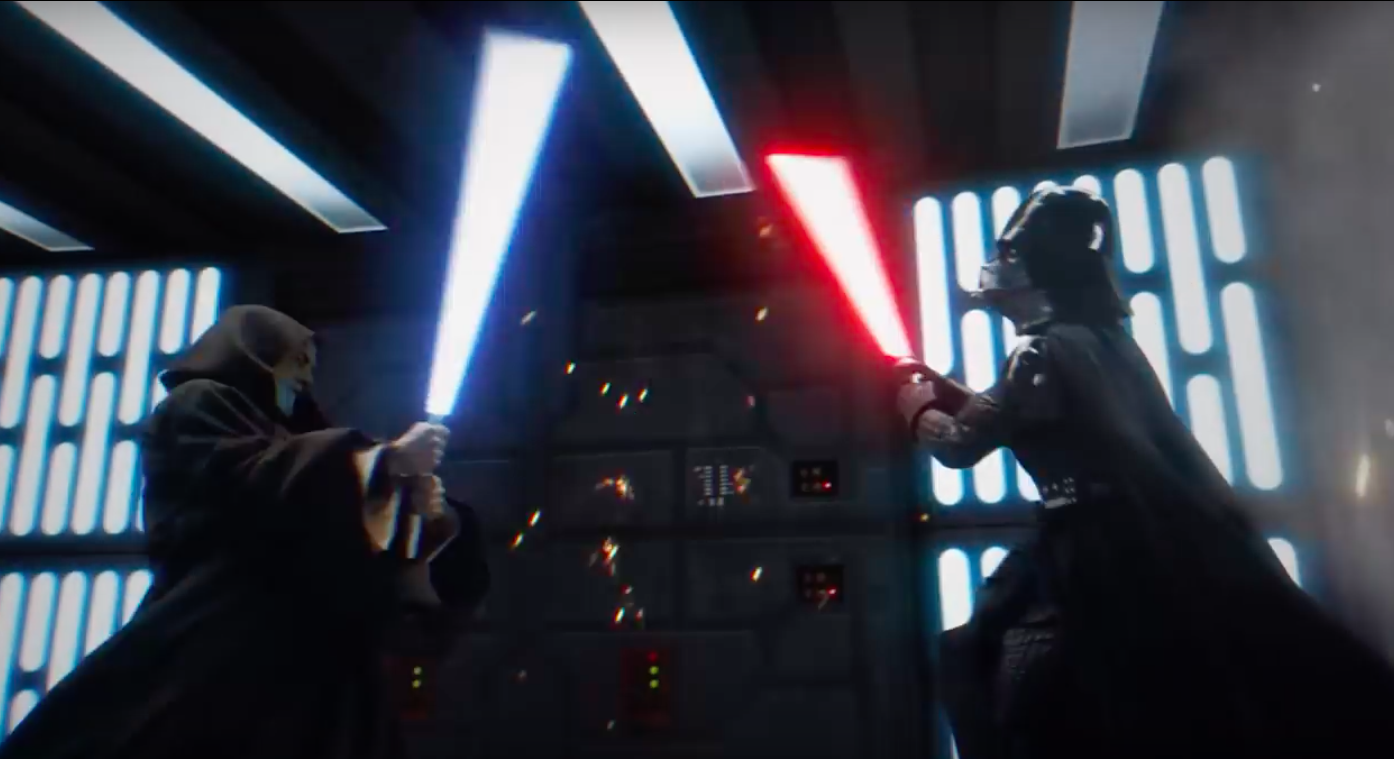 Watch Obi Wan And Darth Vader S Final Duel Become The
