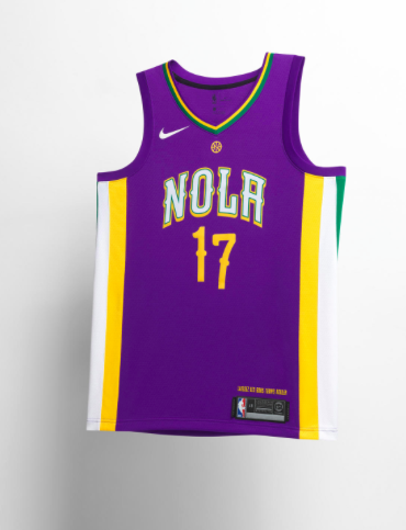 b07c6b92c The Pelicans jersey is everything one of these City Edition jerseys should  be. The details in this jersey