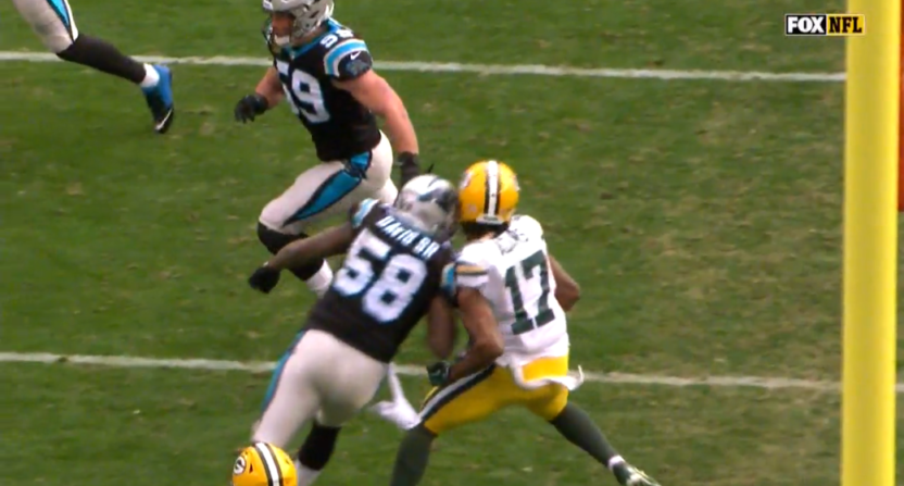 Davante Adams Suffers 3rd Concussion In 14 Months On Dirty Blindside Hit From Thomas Davis