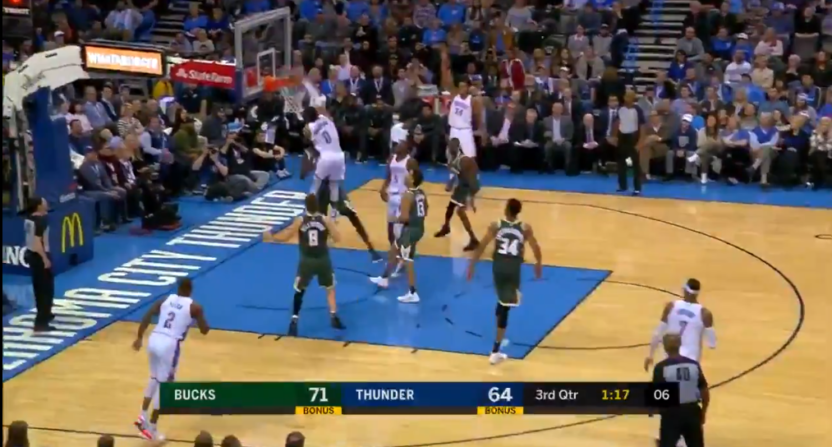 russell westbrook may have sent thon maker into retirement with this