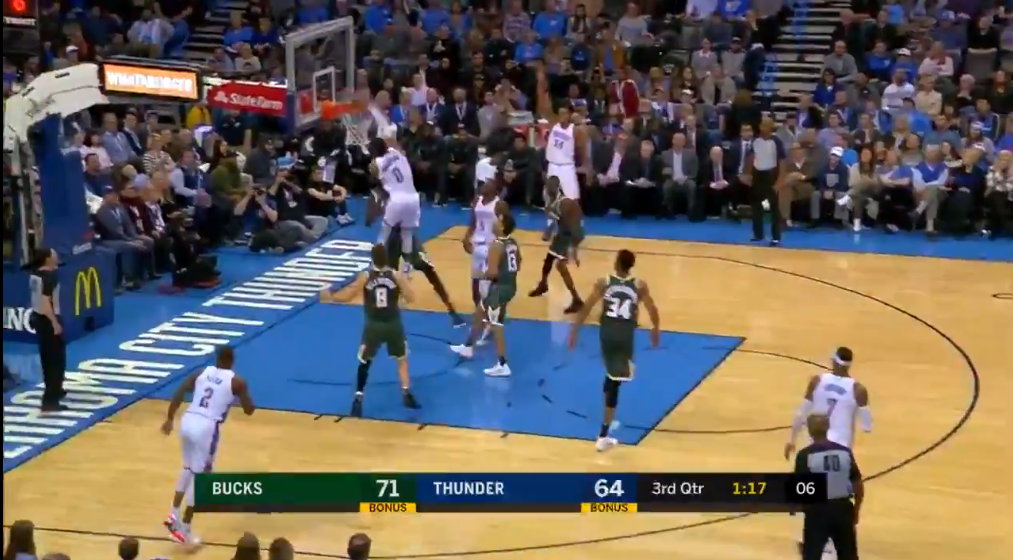Russell Westbrook may have sent Thon Maker into retirement w