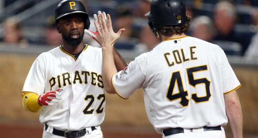 pittsburgh pirates-gerrit cole-andrew mccutchen