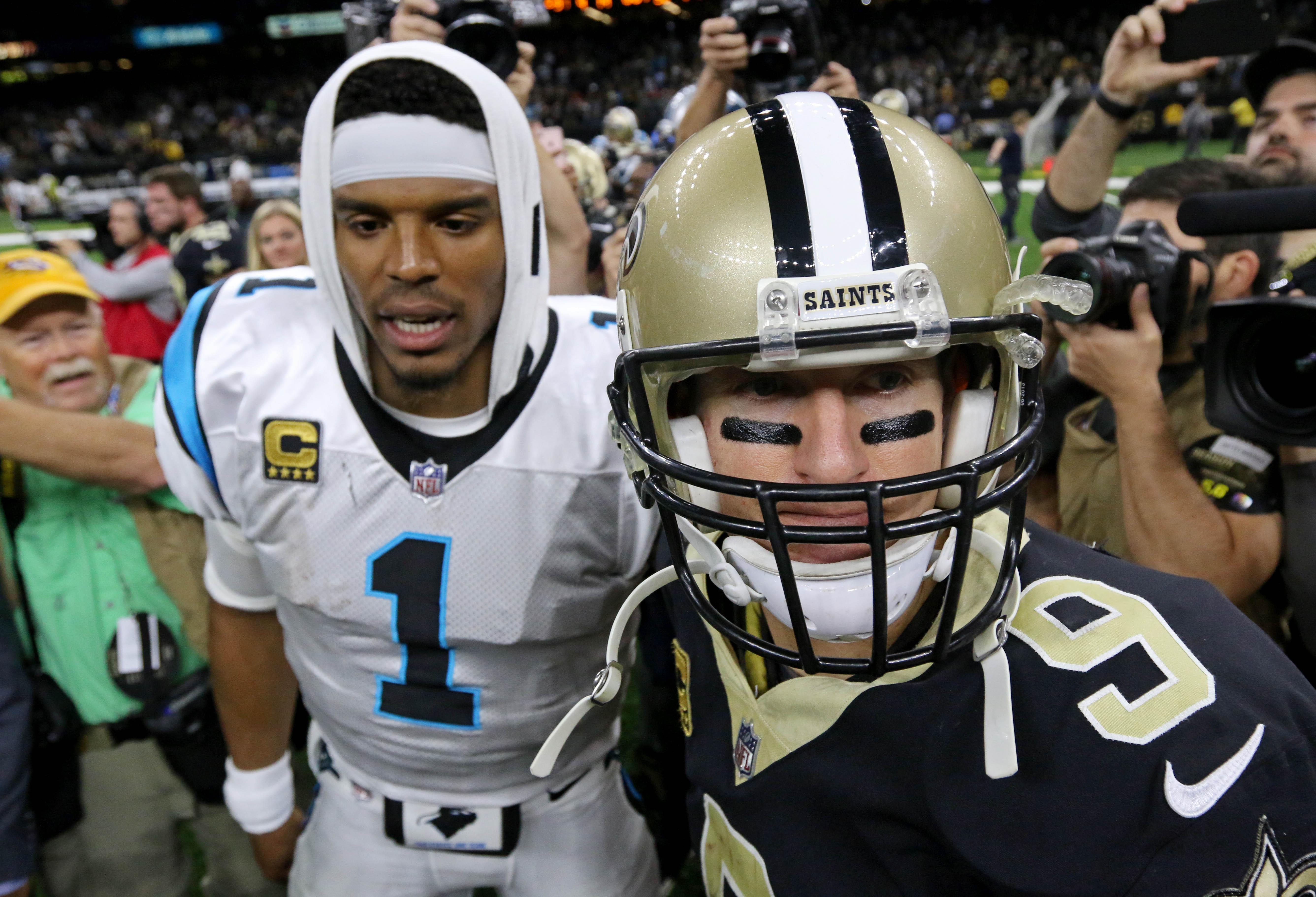 NFL 2018 Wild Card Preview: (5) Carolina Panthers at (4 ...