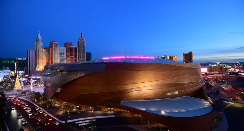 For some reason, Las Vegas is getting another sports arena