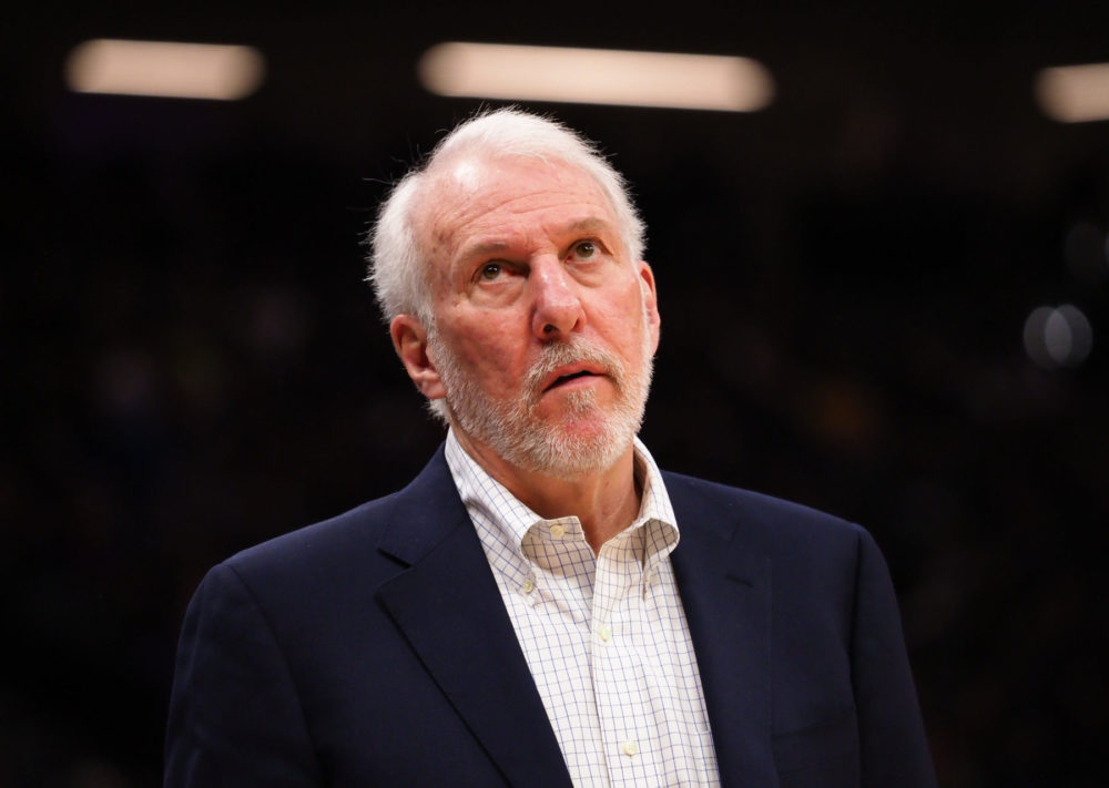 Spurs' coach Gregg Popovich's wife Erin has passed away