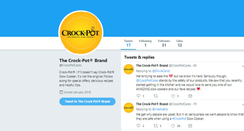 Crock-Pot responds to This Is Us complaints.