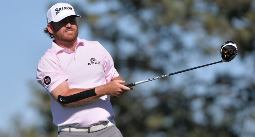J.B. Holmes at the Farmers Insurance Open.