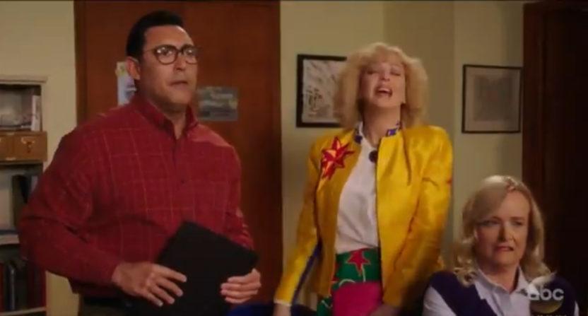 "Ruben Amaro Jr. on ABC""s The Goldbergs."