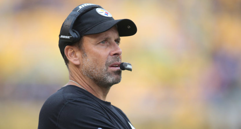 Todd Haley in an Oct. 8 game against Jacksonville.