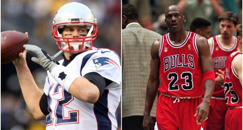 Tom Brady-Michael Jordan