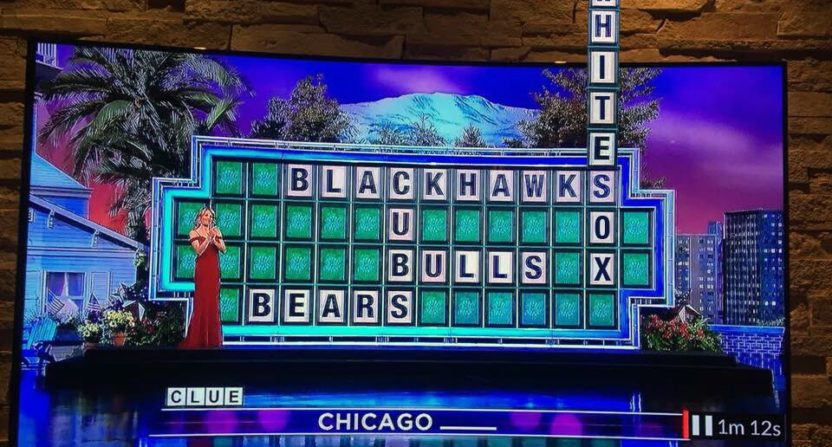 wheel of fortune-white sox