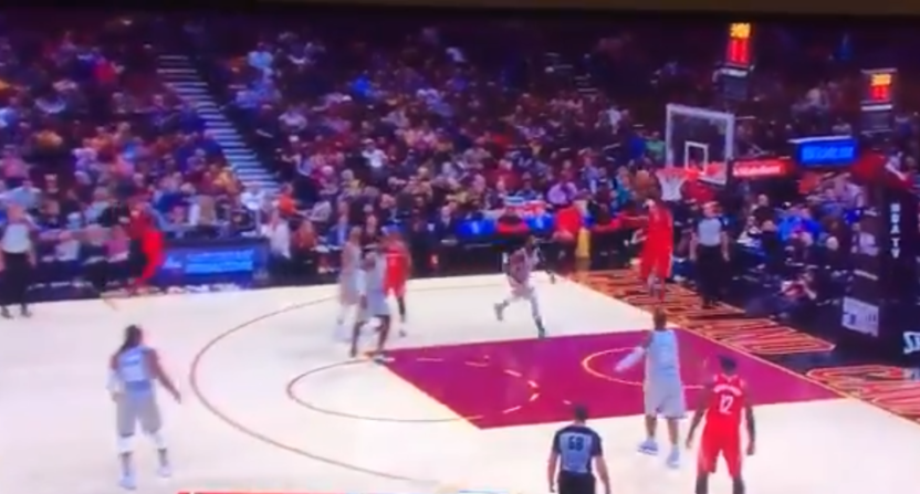 The Rockets, and the world, just kept dunking on the Cavs.