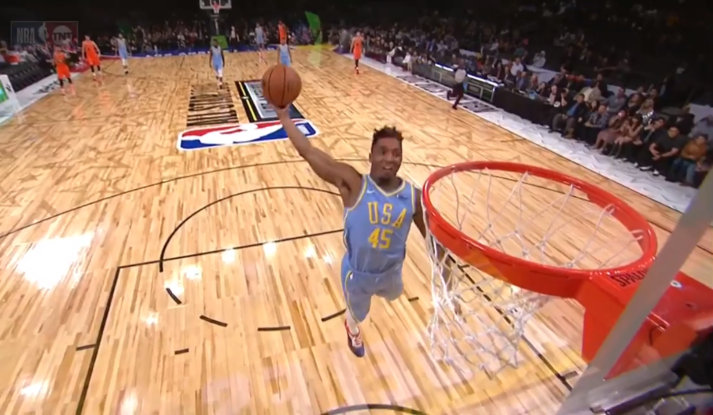 Donovan Mitchell Gives A Nice Preview Of The Dunk Contest