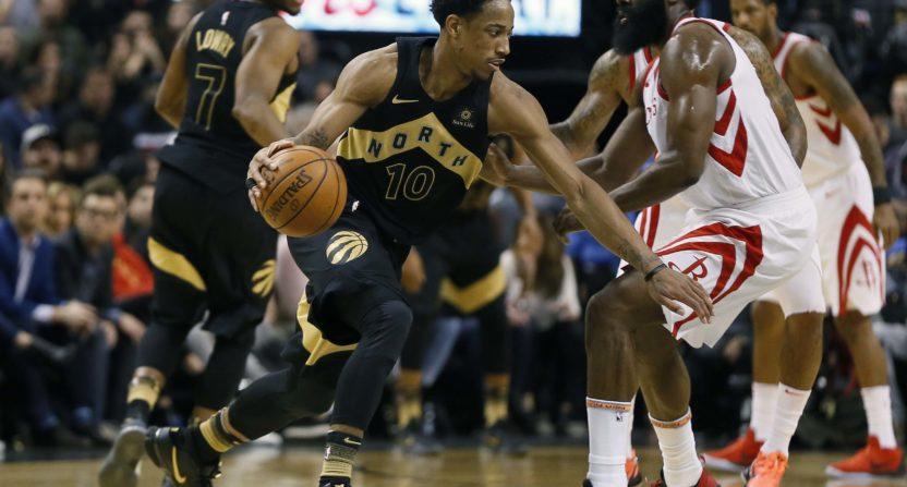 2b46864b7e03 Houston Rockets actually lose basketball game