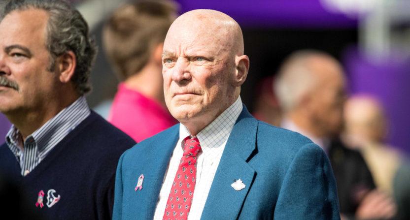 Bob McNair in 2016.