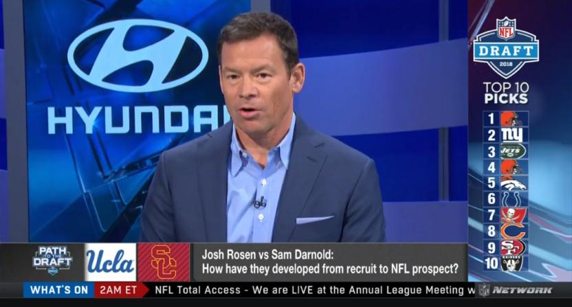 Josh Rosen S Ucla Coach Jim Mora Says The Browns Should