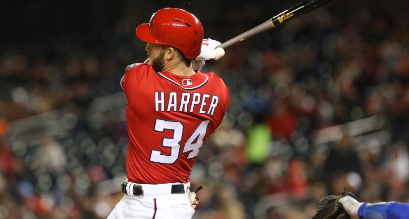 bryce harper-washington nationals