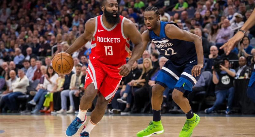 The Houston Rockets score 50 points, in one quarter, in a ... Rockets Score