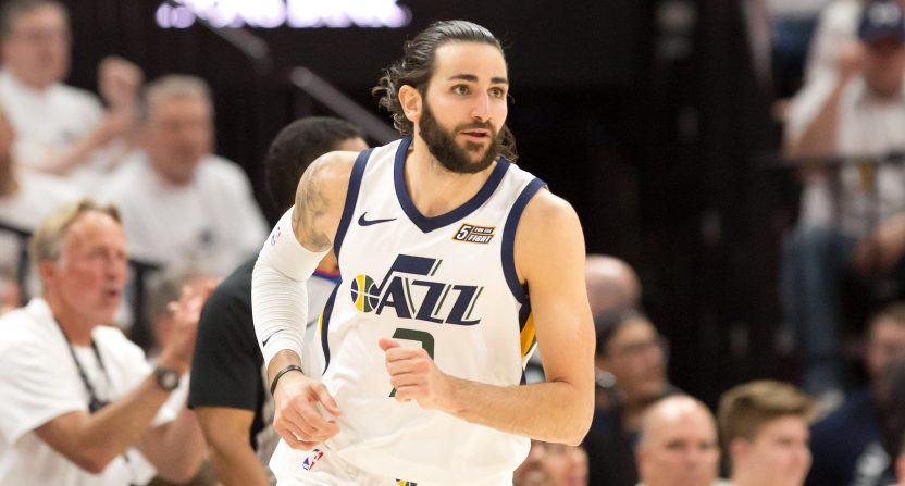 Ricky Rubio s hamstring injury is a bad break the Jazz could not afford bc3aaeb8d