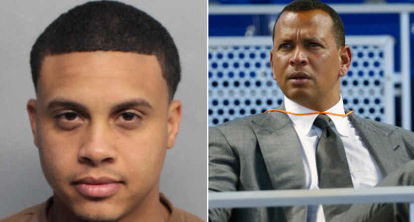 Norberto Susini (L) claims to be A-Rod's nephew, but the relationship's more distant than that.