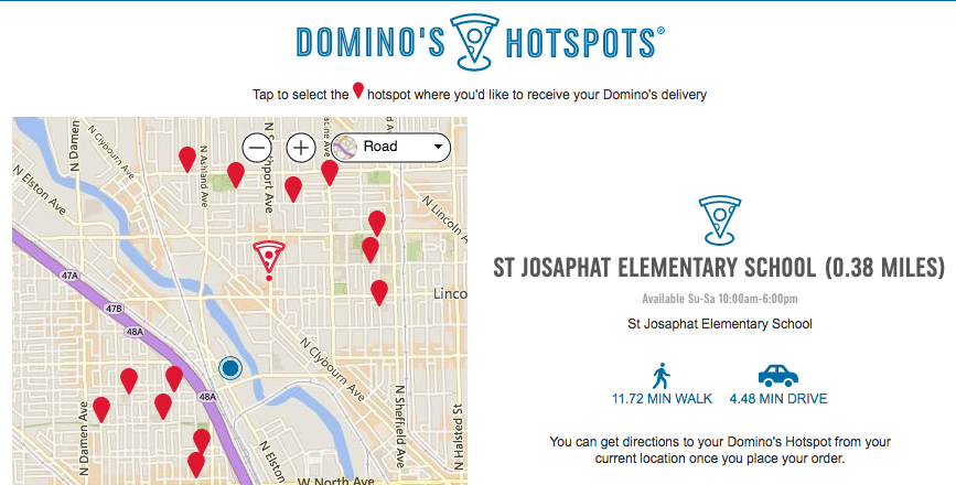 Image result for Domino's HotSpots