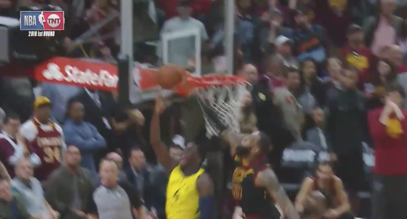 lebron james-victor oladipo-indiana pacers-goaltend