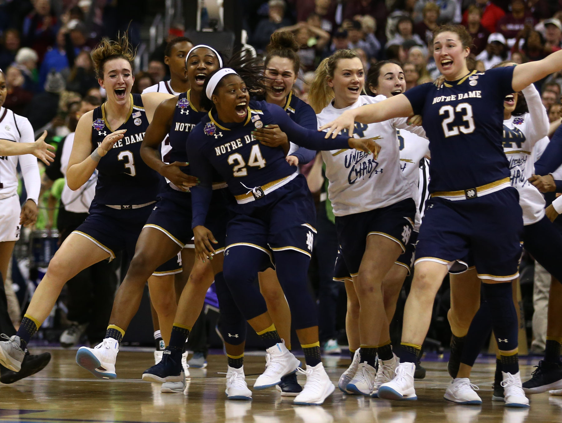 Did Arike Ogunbowale just have the most clutch weekend in sports history?