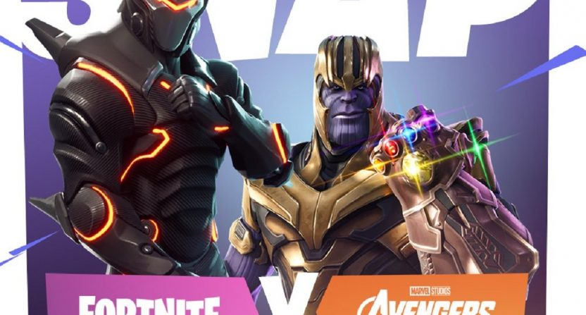 Thanos coming to Fortnite for a limited-run Infinity
