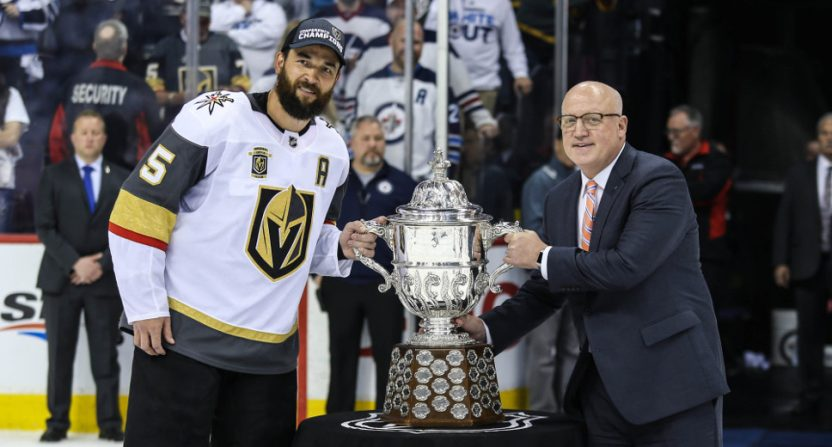The Vegas Golden Knights are off to the Stanley Cup Final, which may not work out well for the sports books.