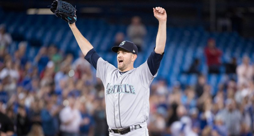 James Paxton recording a no-hitter against the Blue Jays.