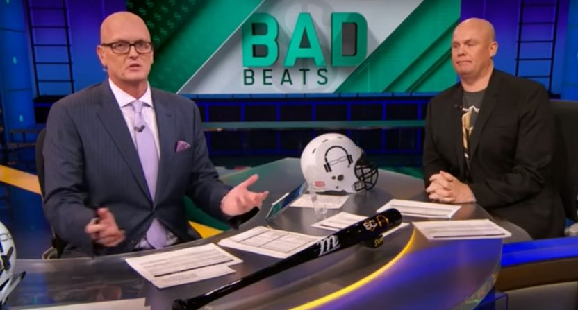 Scott Van Pelt's Bad Beats segment is one of the few discussing sports betting.