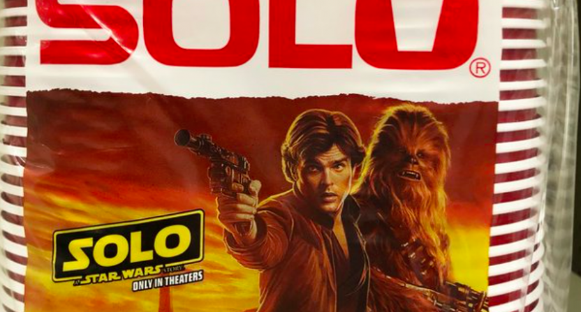 Solo: A Star Wars Story fulfills marketing destiny with Solo