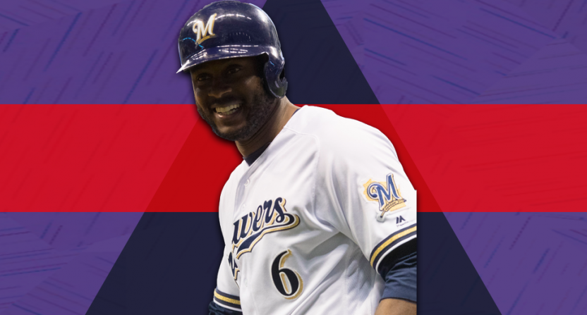 lorenzo cain-milwaukee brewers